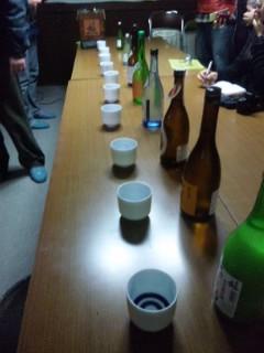 喜多酒造で朝市のお酒選び