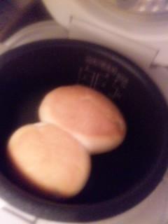 パンも焼けました!