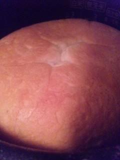 やっぱり焼きました、炊飯器でパン