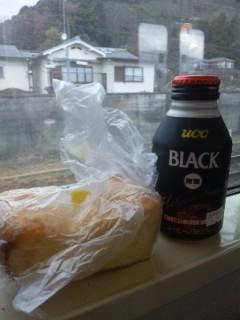 窓辺の朝食
