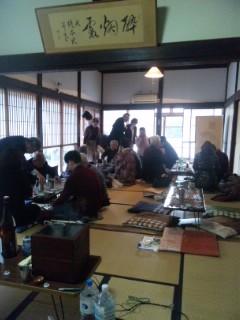 ながらの座・座日本酒探険隊、燗どころ無事終了。