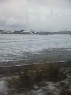 今朝の残り雪