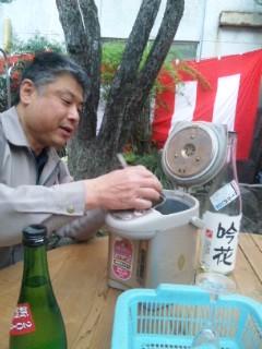 前の日曜日の江戸の姉御の蔵マラソン 4蔵目 吉田酒造