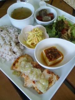 森のBe-cafeで近江冨士カレー!