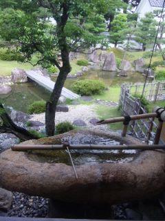 彦根城博物館の庭