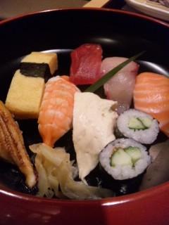 がんこで寿司ランチ