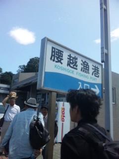 江ノ島が見えた