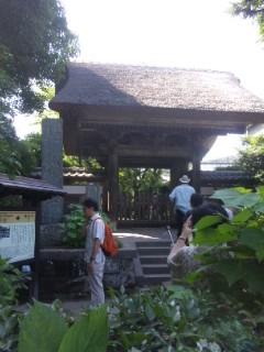 江ノ電極楽寺で下車
