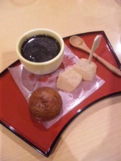 研修旅行 交流会の料理