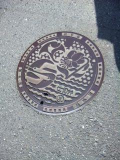 鎌倉のマンホールふた
