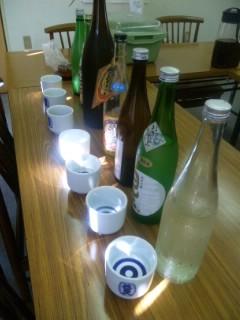 美冨久酒造で朝市のお酒選び