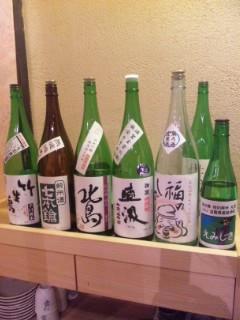 木古里での滋賀の日本酒を楽しむ会続き
