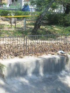 山科 疎水復旧工事中