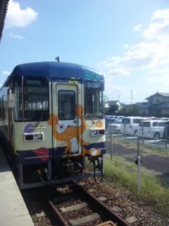 信楽高原鐵道 タヌキラッピング