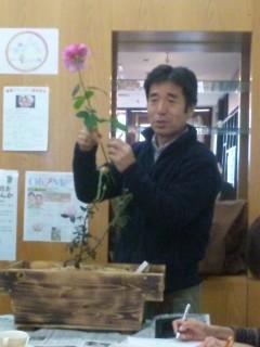 國枝さんのバラ講座2回目