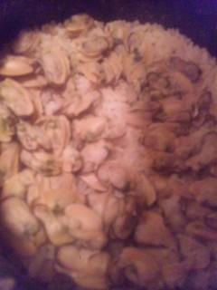 タテボシ貝の炊き込みご飯