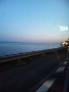 湖西の夕暮れ