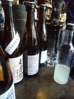 冨田酒造で朝市のお酒選び