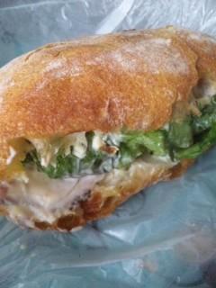 ツェルマットのペッパーポークサンドイッチ