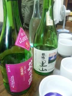 福井弥平商店訪問 朝市のお酒選び