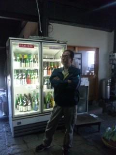 朝市のお酒選びで上原酒造へ