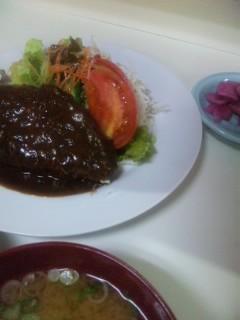 アケミ ハンバーグ定食