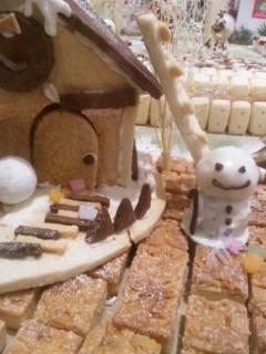 お菓子の家のクリスマス