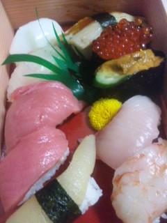 ちょっと贅沢な寿司