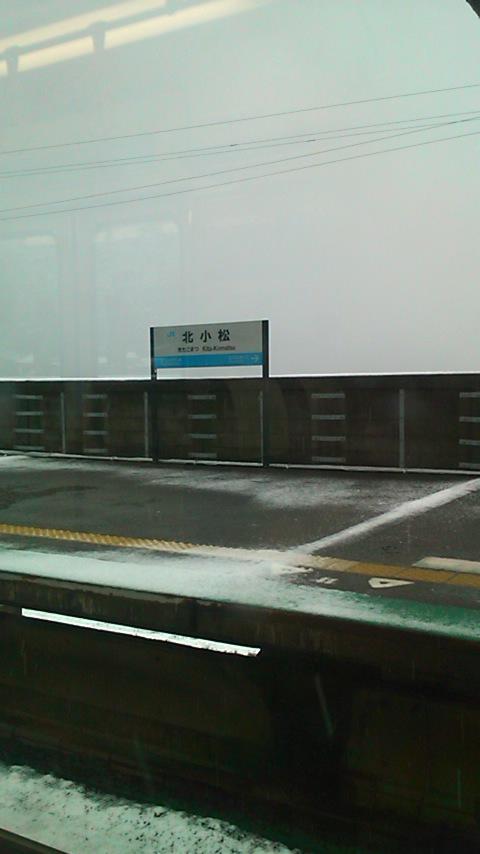 湖西線の車窓から