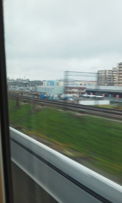 新幹線でお弁当