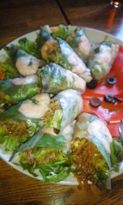 講演会とエスニック料理