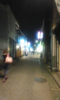 金沢の木倉町へ