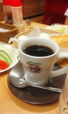 コメダでモーニングコーヒー