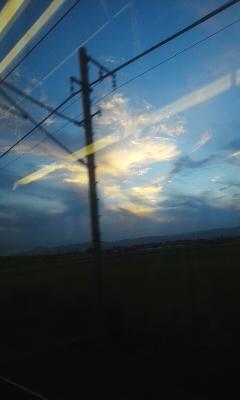 秋の雲、秋の風