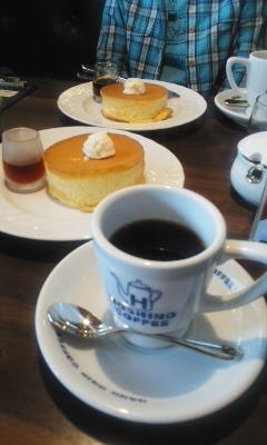 星乃珈琲店でシフォンパンケーキ