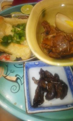 ぜいたく煮、鰻の肝煮、鶏旨煮