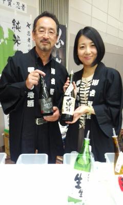 滋賀地酒の祭典にて その2