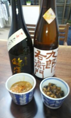 信州&滋賀のお酒の夜