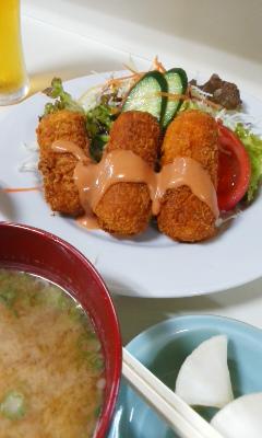 アケミ コロッケ定食