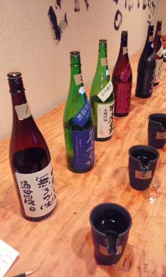 滋賀の地酒を楽しむ会・倖屋と浜大津こだわり朝市コラボ最終回