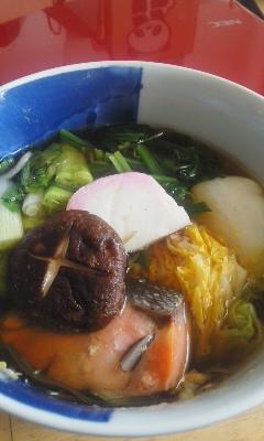 岡山の実家風雑煮