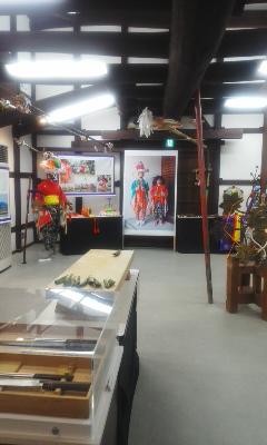 「祭りを彩るデザイン展示」守山市うの家