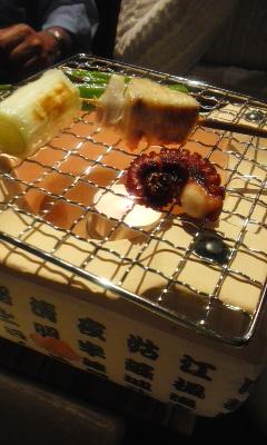 日本酒と魚串 松吉