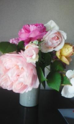 バラのティータイム