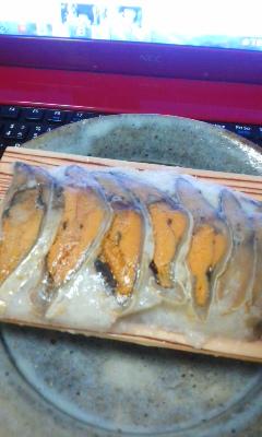 鮒味 鮒寿司の燻製