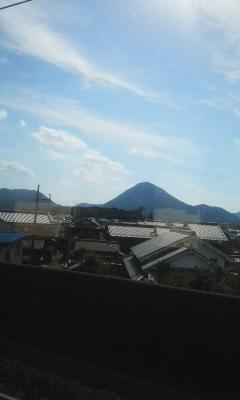 今日の近江冨士