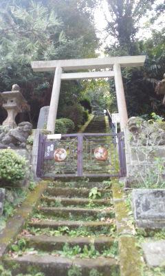 階と言うお菓子ゆかりの神社