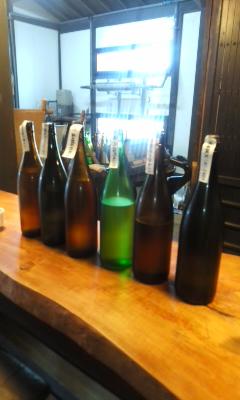 日曜日は上原酒造へ朝市のお酒選びへ