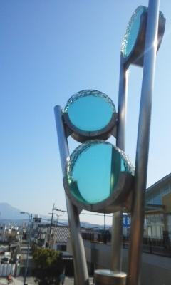長浜駅周辺にて