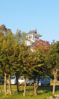 秋晴れの豊公園